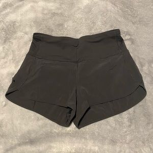 Lululemon Speed Shorts High Rise